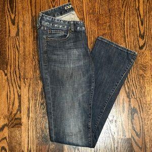 Express Zelda Barely Boot Cut Jeans